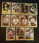 1985-86 OPC BOSTON BRUINS Select from LIST NHL HOCKEY CARDS O-PEE-CHEE