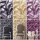 MURIVA SILK EFFECT WALLPAPER - GOLD BLACK PURPLE FEATURE WALL DECOR NEW FREE P+P