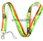 Lot Popular Bob Marley Mobile Cell Phone Lanyard Neck Straps Party Gifts L381