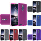 Jelly TPU Case Candy Gel Flex Cover + Tempered Glass For ZTE ZMax Pro / Carry