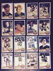 1980-81 OPC PITTSBURGH PENGUINS Select from LIST NHL HOCKEY CARDS O-PEE-CHEE