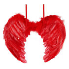 Red&Pink Angel Feather Wings for Christmas Cosplay Fancy Dress Costume event US