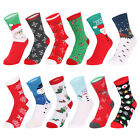 Christmas Socks  Unisex Cotton Socks Stocking Novelty Christmas Gift HOT!