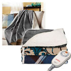 Sunbeam Sherpa Imperial Plush Electric Heated Throw Blankets - Assorted Colors