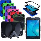 For Samsung Galaxy Tab A 8.0 8-Inch SM-T350 Tablet Armor Rugged Cover Hard Case
