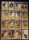 1981-82 OPC BOSTON BRUINS Select from LIST NHL HOCKEY CARDS O-PEE-CHEE