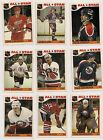 1985-86 TOPPS NHL HOCKEY STICKER INSERTS SELECT FROM LIST SEE SCAN ALL STARS
