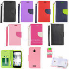 EagleCell Alcatel Dawn / Streak / Ideal / Pixi Bond / Avion Flip Wallet Case CT3