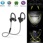 Wireless Bluetooth 4.1 Headset Bass Stereo Headphone Earphone For Smartphones