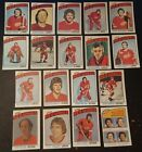 1976-77 OPC DETROIT RED WINGS Select from LIST NHL HOCKEY CARDS O-PEE-CHEE