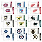 nEw 2pc NHL HOCKEY Logo PILLOWCASES - Decor Sports Team Bedding Accessories on eBay