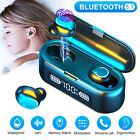 Bluetooth 5.1 Headset TWS Wireless Earphones Mini Earbuds Touch Stereo Headphone