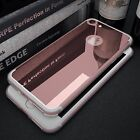 Crystal Clear Ultra Thin Slim Case Black +Tempered Glass Cover For iPhone 7 Plus