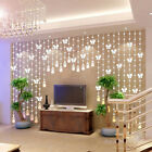 Wedding Party Decor Crystal Clear Glass Beads Room Pendant Beads Curtain Bead