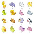Cartoon Animal Removable Wall Decal 24 Inches Cute Kids Room Stickers Fun