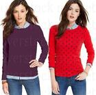 womens crew neck jumpers - NEW WOMENS TOMMY HILFIGER CREW NECK SWEATER PULLOVER JUMPER! VARIETY STYLE/COLOR