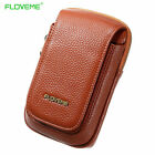 Universal FLOVEME Leather Wallet Pouch Waist Bag For iPhone 6s 7 Plus Samsung S7