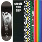 "PLAN B Skateboard Deck COLE CASCADE 8.5"" with GRIPTAPE"