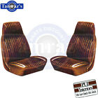 1973 GTO Ventura Front Seat Covers Upholstery - PUI New