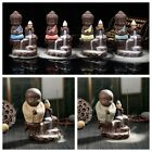 The Little Monk Censer Backflow Stick Incense Burner Craft Buddhist Home Decor