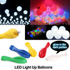 50-200 Pack LED Balloons Light Up Balloons PARTY Decoration Wedding Birthday NEW