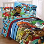 nEw PAW PATROL BEDDING SET - Puppy Hero Chase Marshall Comforter Sheets