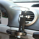 Car Truck Wind Air A/C Outlet Folding Cup Bracket Bottle Drink Holders