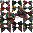 Large 25mm Tartan Ribbon Bows - Choose Tartan and Pack Size Free P&P