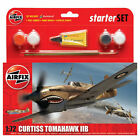AIRFIX A55101 Curtiss Tomahawk IIB Starter Set 1:72 Aircraft Model Kit