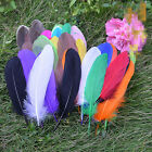 Wholesale 20/50/100pcs Beautiful natural goose feather 15-20cm / 6-8 inches