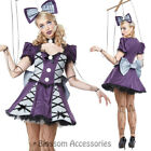 CA112 Marionette Puppet Dress Up Broken Doll Ragdoll Horror Halloween Costume