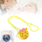 Cartoon Baby Dummy Pacifier Soother Nipple Chain Clip Buckle Dummy Holder New KJ