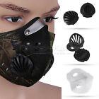 Super Anti Dust Motorcycle Bicycle Cycling Racing Bike Ski Half Face Mask Filter