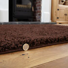 NON SLIP SHAGGY PLAIN NON-SHED LIVING ROOM BEDROOM HALLWAY RUG / ROUND / RUNNER