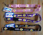 NBA Breakaway Lanyard Keychain Wristlet Los Angeles LA Lakers (PICK)
