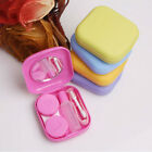Plastic Set Contact Lens Case Travel Kit Mirror Pocket Storage Holder Container