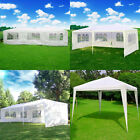 New 10' 20' 30' Outdoor Wedding Party Tent Patio Gazebo Canopy with Side Wall