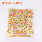 Lots Assorted Colors Mini Beads DIY Crafts Polystyrene Styrofoam Filler Foam