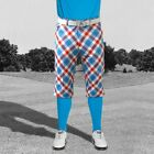 """Funky Trendy Men's Plus 2's  by Royal and Awesome 32 or 38"""" W Plaid a Blinder"""