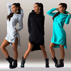 Womens Sweaters Long Sleeve Hoodie Clothes Hooded Sweatshirt Outwear Top T-shirt