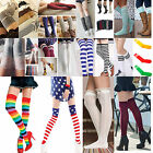 Fashion Girls Ladies Women Thigh High OVER the KNEE Socks Long Cotton Stocking A