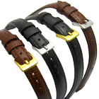 Extra Long XL Leather Watch Strap Lizard Grain (Flat Profile)10mm 12mm 14mm D017