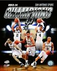 San Antonio Spurs 2014 NBA Finals Champions Team Composite Photo (Select Size)