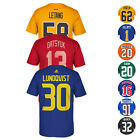 NHL Team Player Name & Number Jersey T-Shirt Collection by REEBOK - Men's