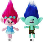 Large Trolls Soft Plush Stuffed Toys Poppy Branch Cartoon Doll Kids Xmas Gift image