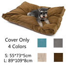 S Pet Dog Bed Pad Mat Puppy Dog Cat Cushion Bed COVER ONLY Mat Soft Warm Blanket