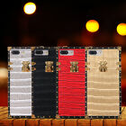 Luxury Crocodile Pattern Leather Hard Back Case Cover for iPhone 6 6s 7 Plus