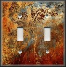 Light Switch Plate Cover Image Of Aged Copper Design Patina - Home Decor Rustic