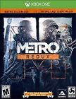 Metro Redux (Microsoft Xbox One, 2014) GAME DISC AND CASE