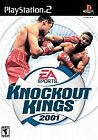 Knockout Kings 2001 (Sony PlayStation 2, 2001) PS2 GAME DISC AND CASE